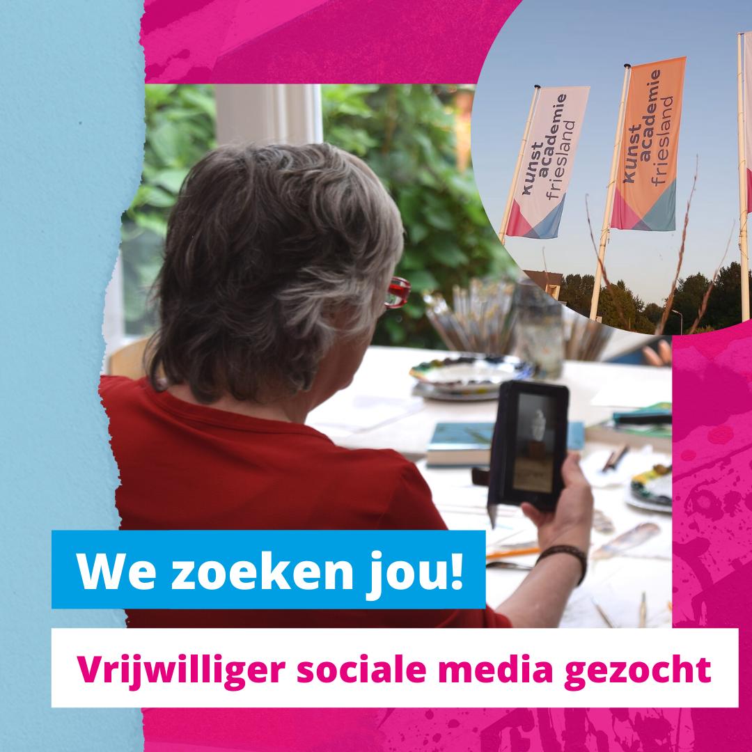 Social Media Vrijwilliger Gezocht